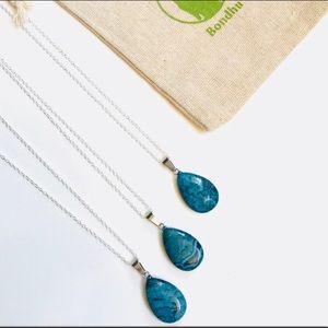 🐰Beautiful Blue Jasper Pendant🐰